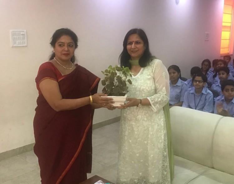 Attended seminar at N.K. Bagrodia School